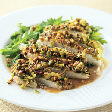 California Pistachio Crusted Lemon Chicken