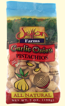 Garlic & Onion Pistachios