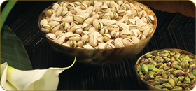A Variety of Pistachios